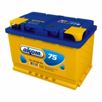 Аккум.6СТ-75 АКОМ Reactor залитый