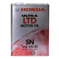 HONDA 5W-30 SN 4л (Европа) ж/б