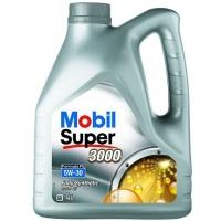 Mobil  5W30 Super 3000 F-FE  4л (бенз./дизель, син)