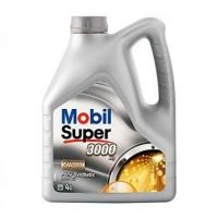 Mobil  5W40 Super 3000  4л (бенз./дизель, синт.)