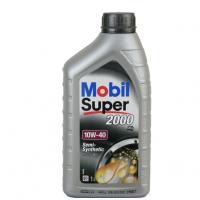 Mobil 10W40 Super 2000  1л (бенз./дизель, п/с)