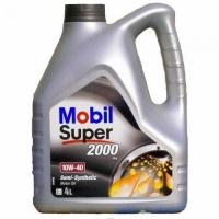 Mobil 10W40 Super 2000  4л (бенз./дизель, п/с)