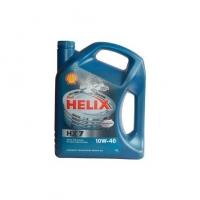 Shell Helix 10w40 HX7 п/с  4л - СИНЯЯ