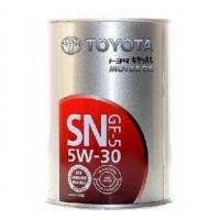 TOYOTA 5w30 SN 1л Япония 08880-10706