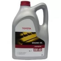 TOYOTA Motor Oil 5w40 5л синт. 08880-80375 Европа