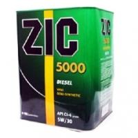 ZIC 5000 SAE 5W30 (дизель) синт 4л ( аналог ZIC Diesel 5/30 X7)