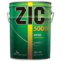 ZIC 5000 SAE 5W30 (дизель) п/с 20л