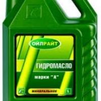 Гидромасло марки А (OIL RIGHT) 5л