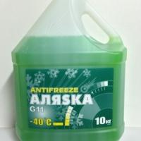 Антифриз Аляска -40  G11  10л зеленый