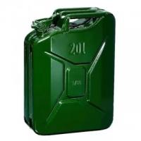КАНИСТРА зеленая (метал) обьем 20 литров