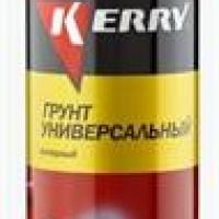 Грунтовка KERRY коричневая (аэр.520мл)  KR-925-2