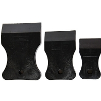 Набор шпателей резиновых (комплект 3шт)