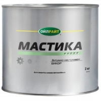 Мастика Бикор 2 кг жест. банка OIL RIGHT