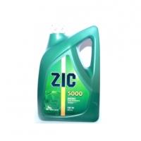 ZIC 5000 SAE 5W30 (дизель) синт 6л  ( аналог ZIC Diesel 5/30 X7)