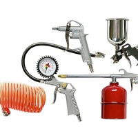 Набор пневмонасадок 5 предметов (метал)